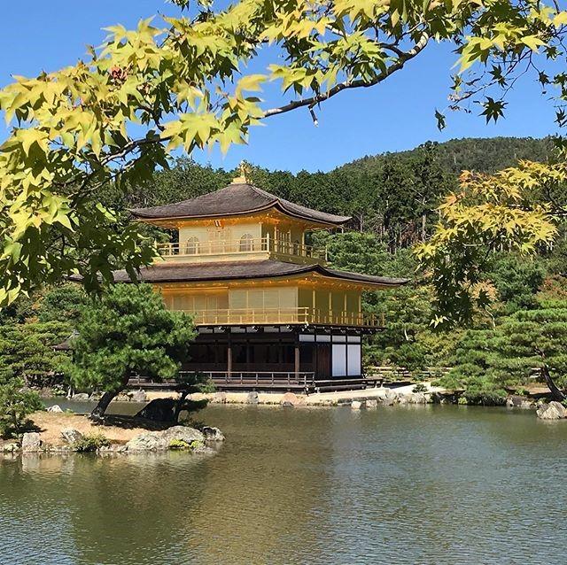 女子旅京都旅行金閣寺